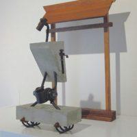 鮫島弓起雄 アート 彫刻 sameshima yumikio art sculpture
